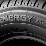flanc d'un pneu avec le logo de l'energy saver