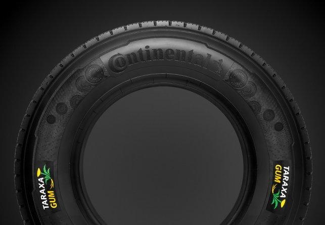 Un pneu à base de caoutchouc de pissenlit, ça fait rêver.