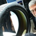 le pneu self seal présenté par Michelin au bibendum challenge en chine, 2014