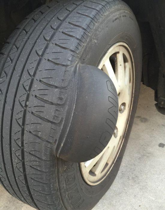 pneu avec hernie