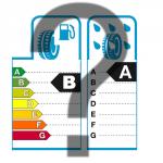 étiquette de pneu avec un point d'interrogation
