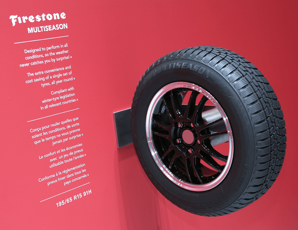 pneu-firestone-multiseason au salon de genève