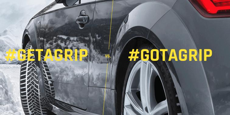 dunlop concours gotagrip getagrip image sur fond de voiture