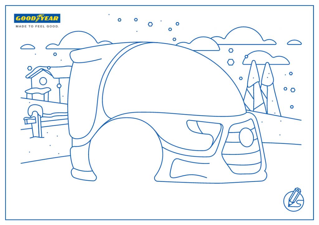 goodyear-jeu-concours-enfant modèle de voiture