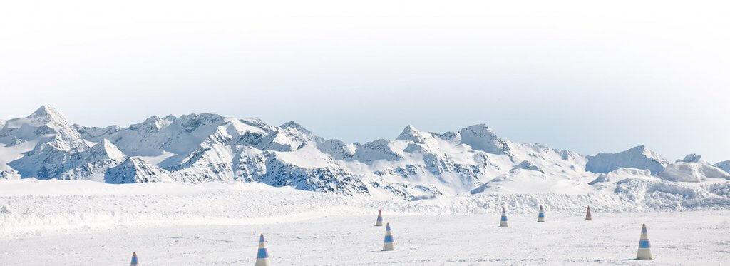 pilotage montagne neige