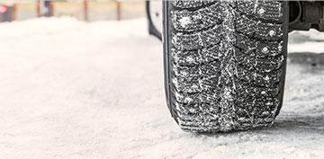 pneu sur glace